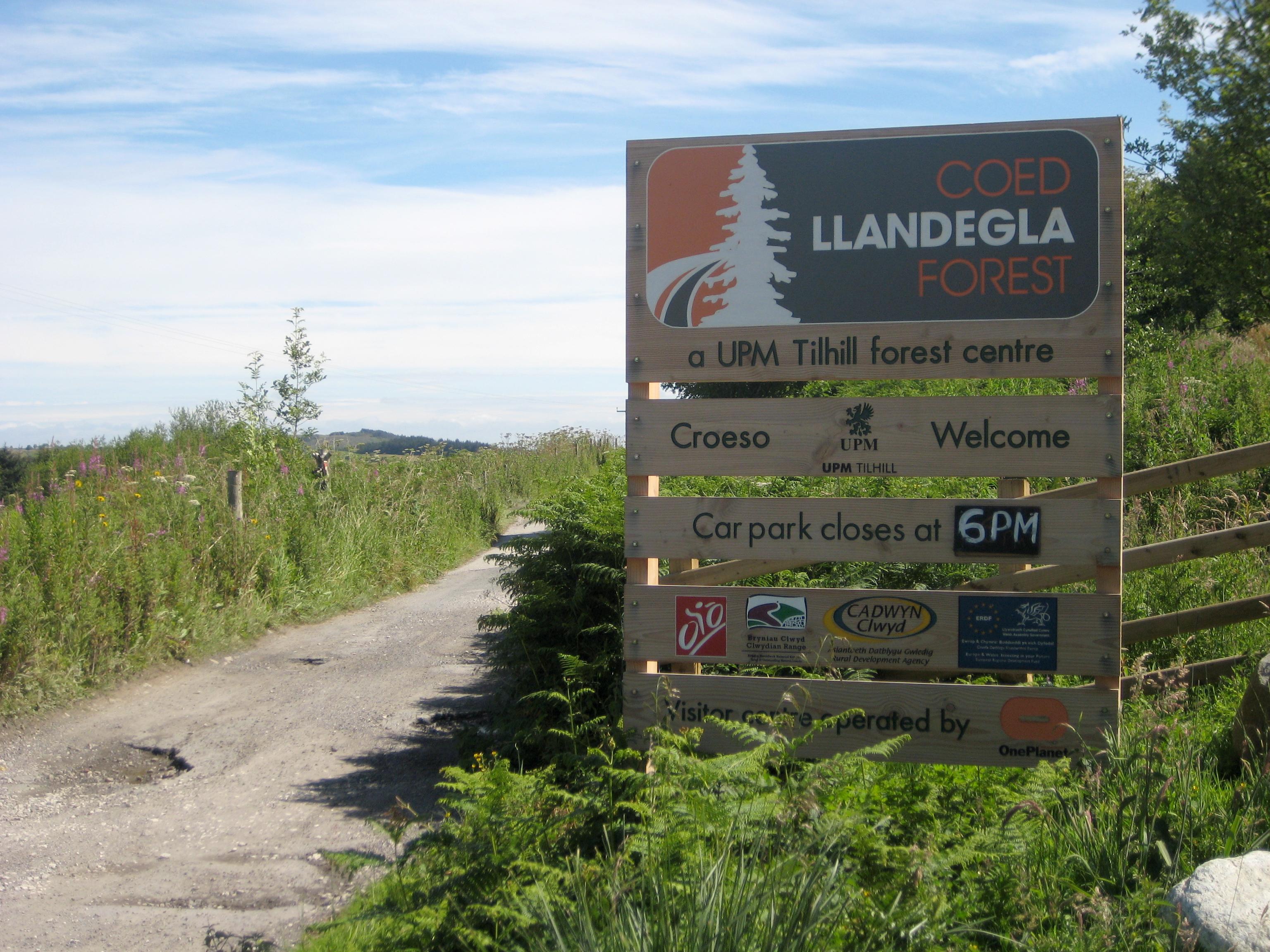 Green Trail, Coed Llandegla