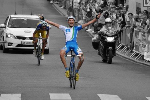 cycling professionally