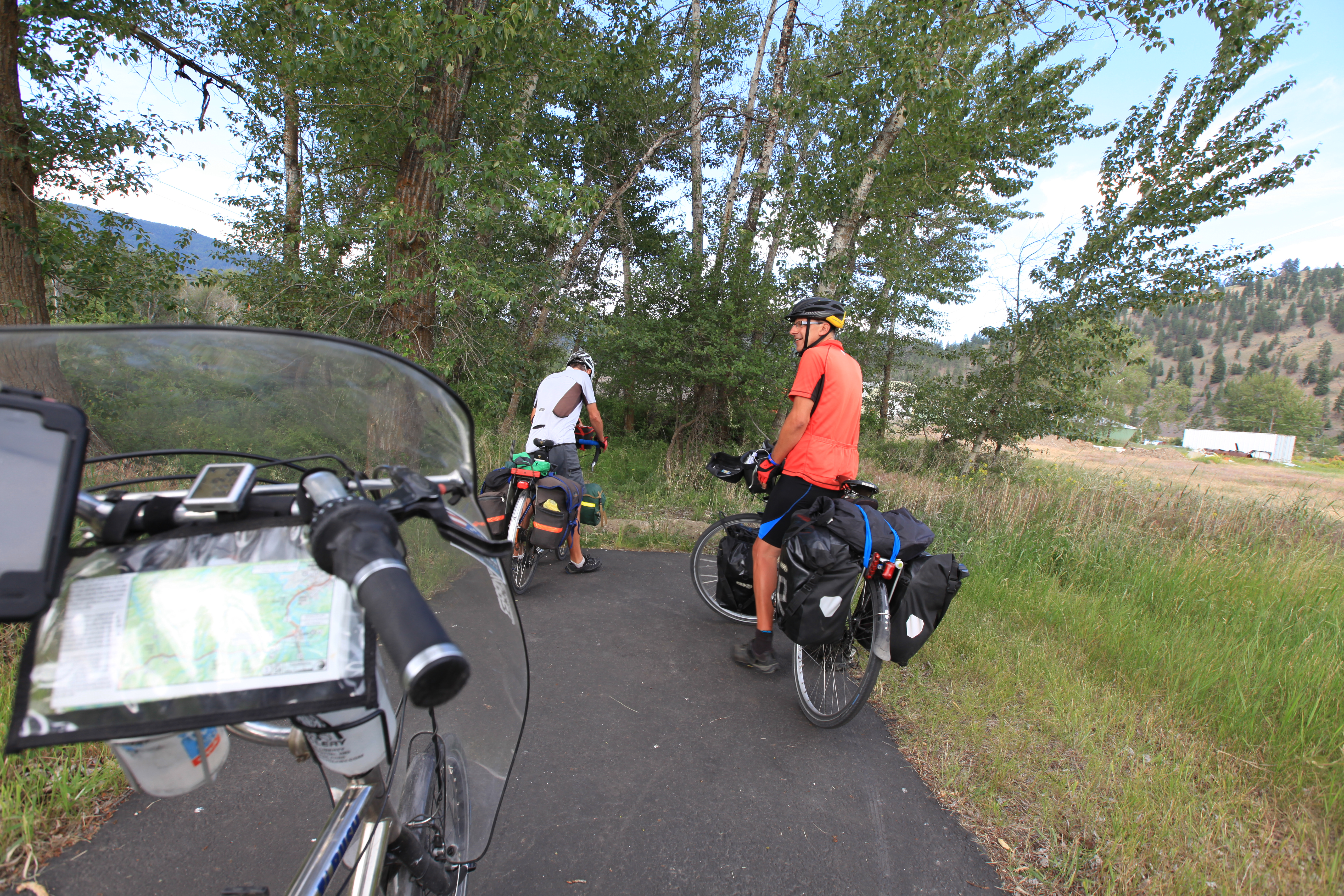 Lewis and Clark Trail hd cycling pics