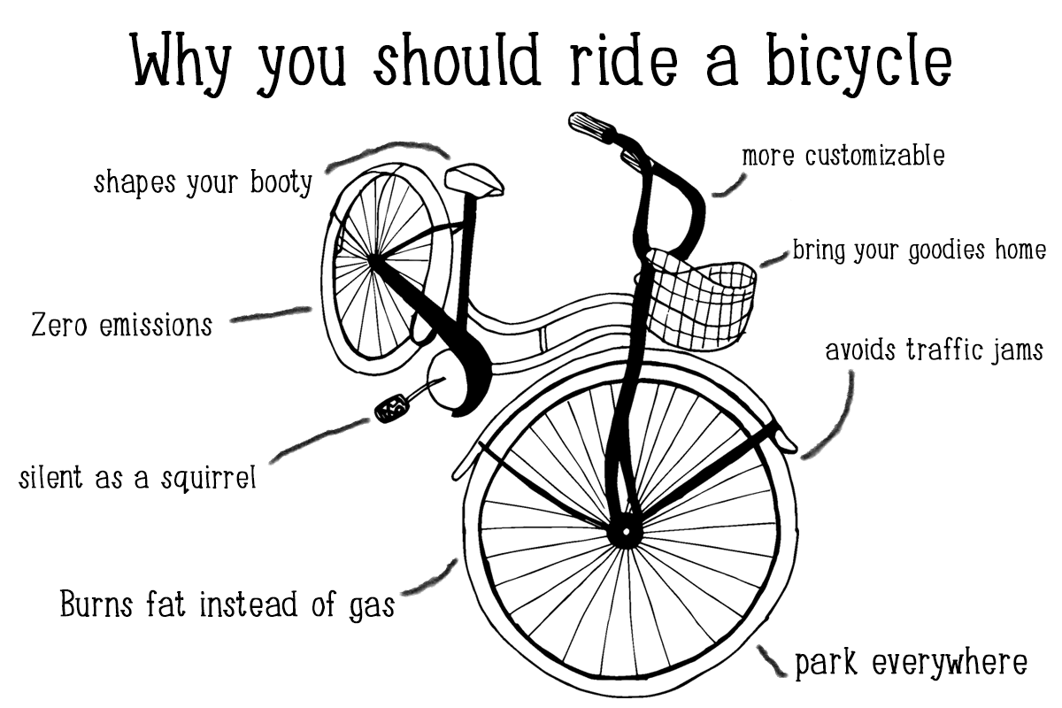 cycling benefits